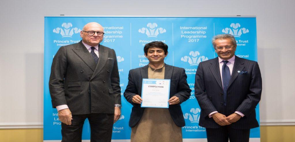 Mr. Zaman represented Karakoram International University
