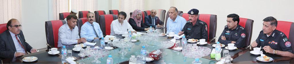 IGP-GB-Sanaullah-Abbasi-met-the-Vice-Chancellor-at-KIU