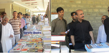 Library committee arranges Book Fair at main campus