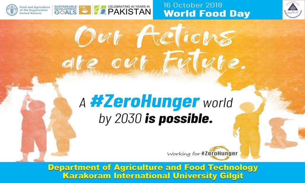 Banner world food day