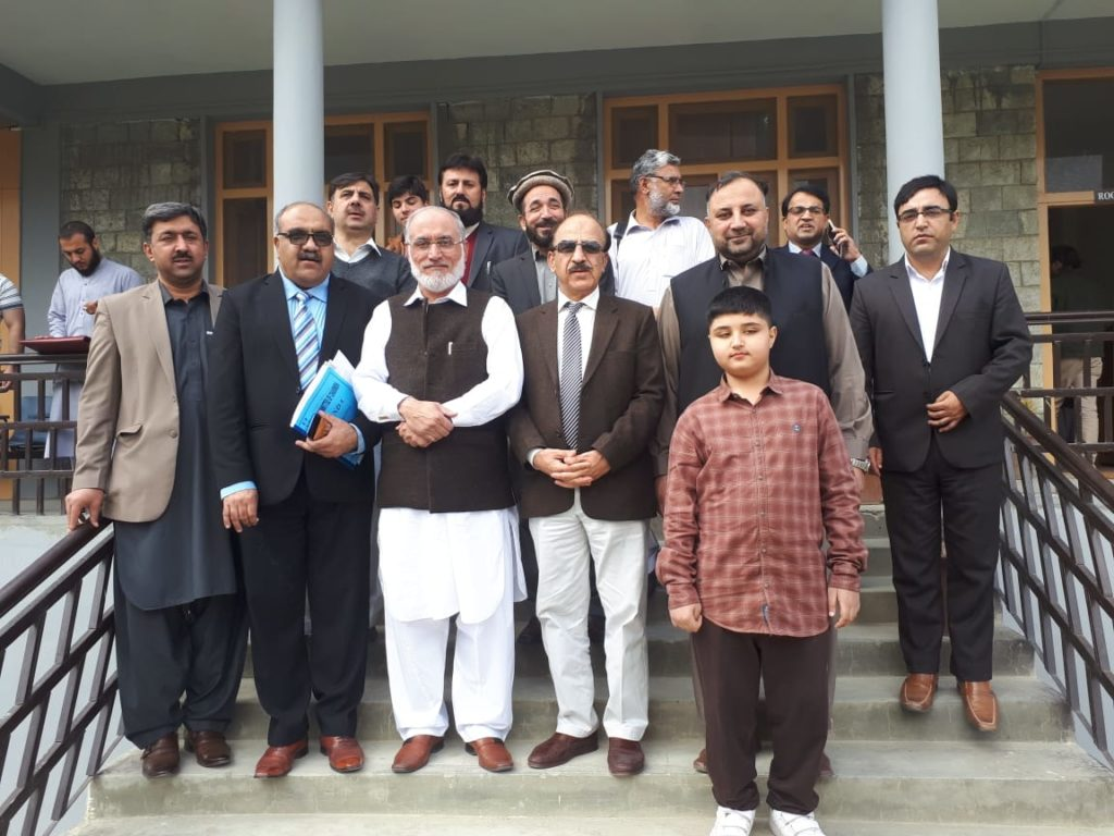 IBCC 161st meeting held at KIU Hunza Campus.