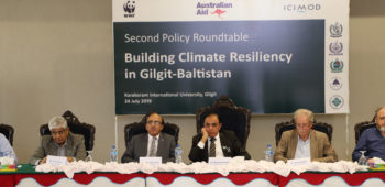 Second Policy Roundtable Building Climate Resiliency in Gilgit-Baltistan