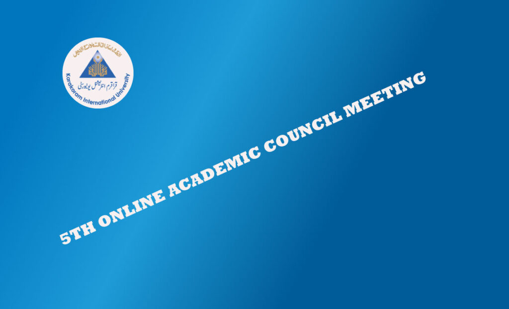Academic Council Meeting