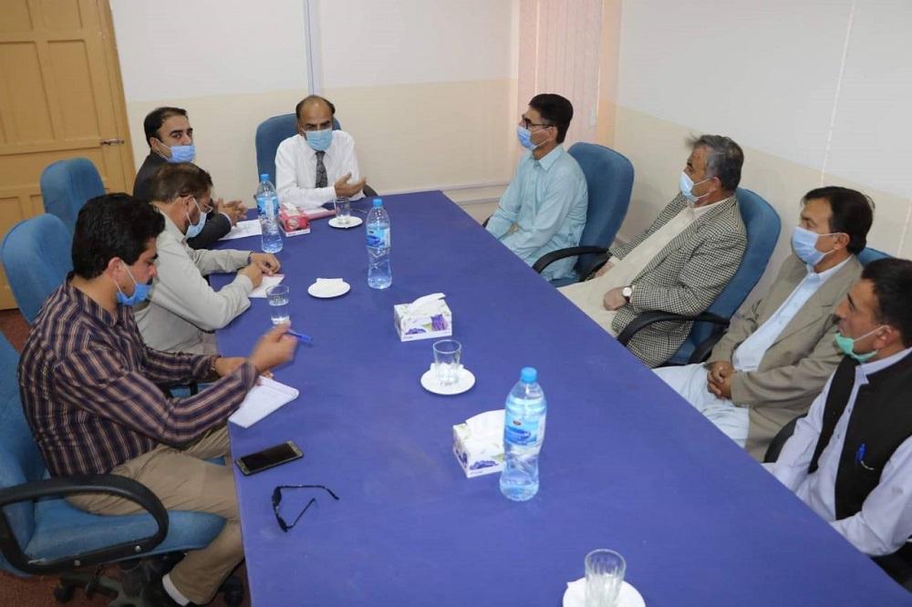 VC Visit Hunza Campus